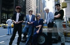 Duran Duran on a street corner in NYC, NYC, September 1981.