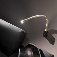 love this new led bedside fixture - leather in both cream and brown...  one of our exclusive lines  https://www.facebook.com/GlowLighting