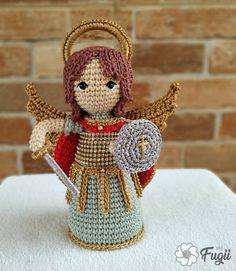 Santa Ornaments, Elves, Gnomes, Macrame, Inspiration, Crochet Angels, Amigurumi Doll, Craft, Nativity Sets