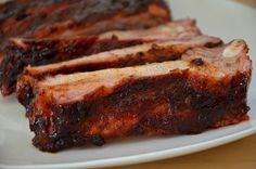 Candied Spareribs on the Grill