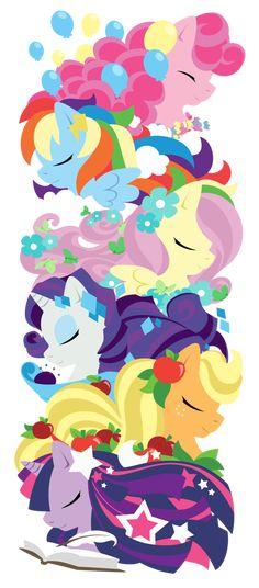 Pony totem by raygirl on deviantART