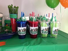 Teenage Mutant Ninja Turtles birthday favors