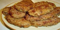 Dietary vegetable tasty chops without a gram of meat Vegetable Dishes, Vegetable Recipes, Vegetarian Recipes, Cooking Recipes, Healthy Recipes, Hungarian Recipes, Russian Recipes, Hamburgers, Good Food