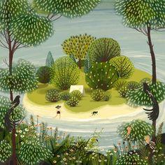 SECRET ISLAND by Jane Newland