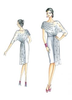 Patron de couture Robes 3323
