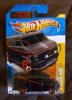 Rare Hot Wheels   Details for: HOT WHEELS GMC A-TEAM VAN - RARE 2011 Edition - Die Cast ...