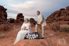 Congrats Linda & Jose! #valleyoffirewedding #lasvegaswedding #romanticvegaswedding #desertwedding
