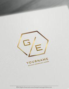 Create a Minimalist Logo For Free – Polygon Logo Template Alphabet Logo, Letter Logo, Modern Logo Design, Business Logo Design, Free Business Logo, Best Logo Design, Polygon Logo, Logo Free, Free Logo Templates