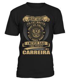 CARREIRA - I Nerver Said