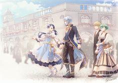 Anime Couples Drawings, Anime Couples Manga, Cute Anime Couples, Anime Guys, Manga Art, Manga Anime, Anime Art, One Piece Comic, Ferdinand