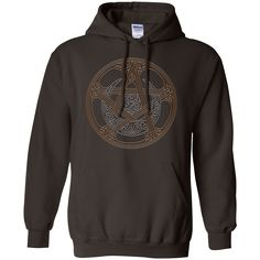 The Pentacle Of The Mystic Knot Hoodie