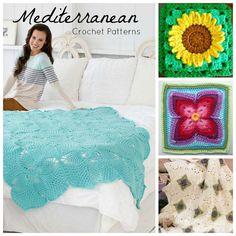 9 Mediterranean Patterns - Wrap yourself up in a few Mediterranean-inspired patterns!