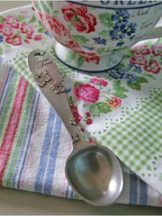 One for the Pot Pewter Teaspoon