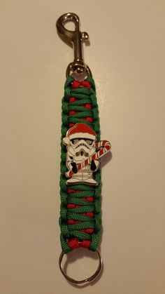 Buy 2 get 1 FREE/Fast FREE Shipping/Star Wars/Stormtrooper/Christmas/paracord/keychain