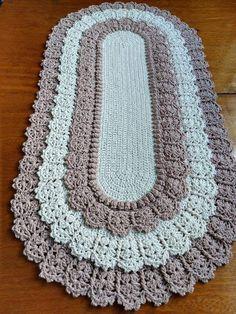 Made To Order Carpet Runners Carpetrunn - Diy Crafts - Qoster Crochet Doily Rug, Crochet Carpet, Crochet Basket Pattern, Crochet Flower Patterns, Crochet Tablecloth, Crochet Bobble, Free Crochet, Diy Crafts Crochet, Crochet Home