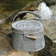 french minnow bait bucket