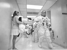 Apollo 10. The last NASA mission astronauts chose their own callsigns. In this case, Snoopy for the lunar module.