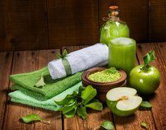 Duschgel selber machen - Duschgel Rezept für ein Apfel Duschgel