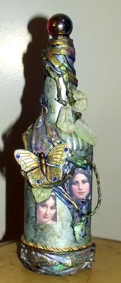 Another altered bottle.
