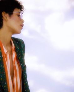 Dilone - Girly shades, meet boyish blazer. Juxtaposition is everything—and a good haircut certainly helps.