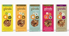 Packaging of the World: Creative Package Design Archive and Gallery: Gånola Bars
