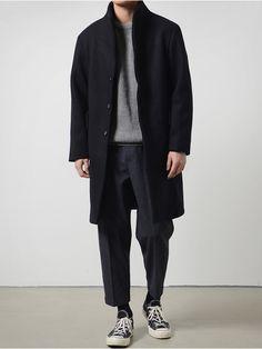 - Men's style, accessories, mens fashion trends 2020 Minimal Fashion, Urban Fashion, Look Fashion, Winter Fashion, Mens Fashion, Fashion Outfits, Fashion Black, Stylish Men, Men Casual