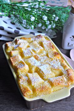 Easy Bread & Butter Pudding 面包牛油布丁 - Eat What Tonight Brioche Bread And Butter Pudding, Custard Bread Pudding, Custard Recipes, Bread N Butter, Pudding Recipes, Bread Recipes, Bread Puddings, Cake Recipes, Delicious Desserts