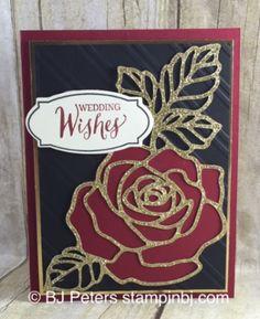 Rose Wonder, Rose Garden, Stampin' Up!, BJ Peters