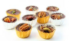 Grunnoppskrift på enkel konfekt Fat Bombs, Mini Cupcakes, Low Carb Recipes, Protein, Sweet Treats, Muffin, Vegetarian, Snacks, Baking