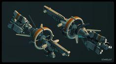 by Pascal Blanche Concept Ships, Concept Art, Game Concept, Spaceship Design, Sci Fi Ships, Alien Worlds, Mechanical Design, Futuristic Design, Science Fiction Art