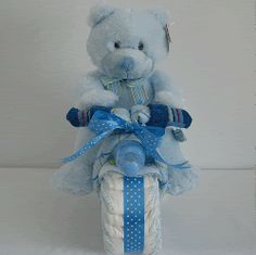 Take a look at our colorful baby shower gift ideas. Get more decorating and shower ideas at http://www.CreativeBabyBedding.com