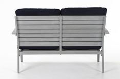 Cosco Outdoor Loveseat and Coffee Table, 2 piece, Hand Painted Aluminum, Navy Cushions Navy Blue Cushions, Outdoor Loveseat, Aluminum Patio, Veil, Outdoor Living, Love Seat, Hand Painted, Coffee, Link