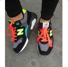 New Basket Femme Tendance New Balance Ideas Women's Shoes, Hot Shoes, Crazy Shoes, Me Too Shoes, Shoe Boots, Nike Shoes, Cute Sneakers, Shoes Sneakers, Casual Sneakers