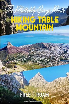 Heading to Cape Town? Don't miss the Platteklip Gorge hike for some stunning views of Table Mountain and the city and the best exercise you'll get in Cape Town! Africa Destinations, Amazing Destinations, Travel Destinations, Holiday Destinations, Africa Travel, Us Travel, Globe Travel, Hawaii Travel, Italy Travel
