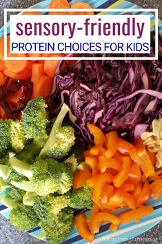 Sensory-friendly proteins for kids Protein can be a challenge for kids with autism and/or sensory processing disorder. Try these protein ideas for kids. Ideas are organized by crunchy proteins and smooth proteins for all texture preferences. Best Protein, High Protein Recipes, Protein Foods, Protein Sources, Whey Protein, Sensory Diet, Sensory Issues, Autism Diet, Adhd Diet