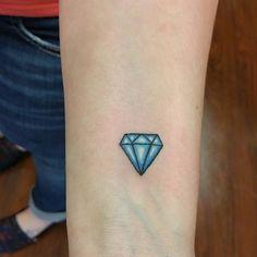 aquamarine birthstone tattoo - Google Search