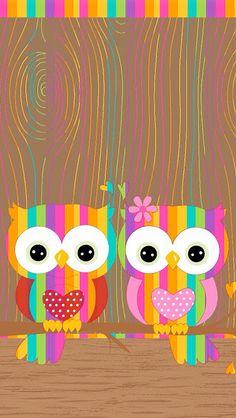 Wall paper cute owl wallpapers Ideas for 2019 Cute Owls Wallpaper, Hello Kitty Wallpaper, Pattern Wallpaper, Cellphone Wallpaper, Iphone Wallpaper, Cute Wallpapers, Wallpaper Backgrounds, Graffiti Kunst, Owl Clip Art