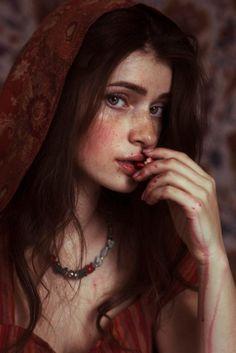 Женская красота и очарование в ярких фотографиях Давида Дубницкого 12