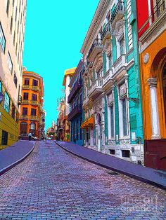 ✯ Old San Juan - Puerto Rico ~ I LOVE the Latin culture  New Year's Eve is INSANE in Puerto Rico! ~ super high stiletto heals are a requirement *LOL