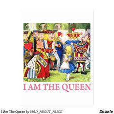 I Am The Queen Postcard Retro Christmas Decorations, Vintage Christmas, Holiday Cards, Christmas Cards, Christmas Postcards, Christmas Holiday, Adventures In Wonderland, Anniversary Quotes, Queen Of Hearts