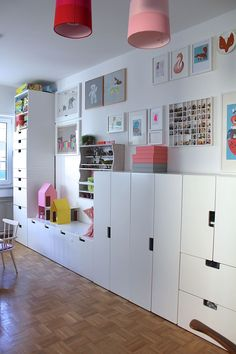 Children's room - the territory STUVA More nursery interiors: https://en.ikea-club.org/category/children-house.html