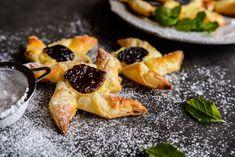Čučoriedkovo-pudingové vrtuľky z lístkového cesta Cantaloupe, Fruit, Ethnic Recipes, Food, Hampers, Essen, Meals, Yemek, Eten