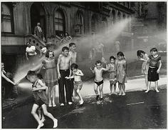 Summer on the Lower East Side (1937) by Weegee
