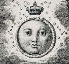 """muscavomitoria: """" Sacra exequialia in funere Jacobi II magnae Britanniae regis (1702). Detail. """"  """" """""""