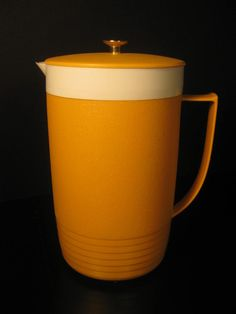 Retro Sunfrost ThermOWare Pitcher with Lid Yellow by TheRetroLife, $19.95