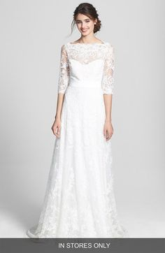 #Marchesa Corded Lace Dress