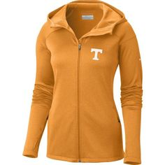 Columbia Women's Tennessee Volunteers Tennessee Orange Saturday Trail Hooded Jacket, Size: Small, Team