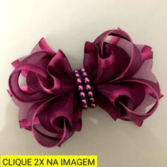 Large Hair Bows, Ribbon Hair Bows, Diy Hair Bows, Baby Bows, Baby Headbands, Baby Girl Hair Accessories, Bow Template, Hand Embroidery Flowers, Hair Bow Tutorial