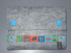 Filztasche für UNO-Karten Continental Wallet, Felting, Cards, Bags