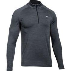 Under Armour Men's Playoff 1/4 Zip Golf Shirt Grey Dark - Golf Apparel, Golf Layering at Academy Sports #golfshirts